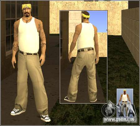 Skin Pack Getto für GTA San Andreas sechsten Screenshot
