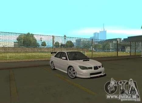 Subaru Impreza WRX STI-Street Racing pour GTA San Andreas moteur