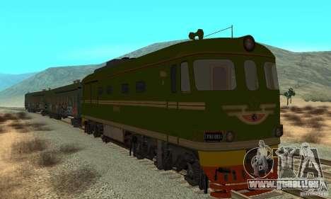 Custom Graffiti Train 2 pour GTA San Andreas