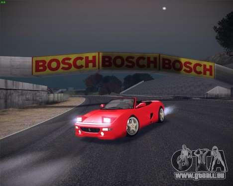 Ferrari F355 Spyder für GTA San Andreas