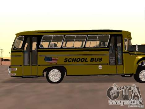 Bedford School Bus für GTA San Andreas Rückansicht