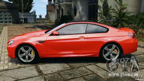 BMW M6 F13 2013 v1.0 pour GTA 4 est une gauche