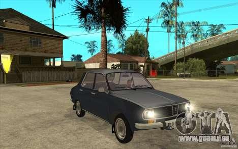 Dacia 1300 v2 pour GTA San Andreas vue arrière