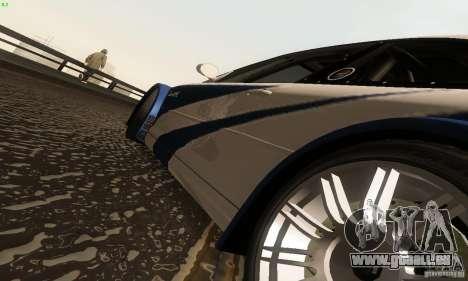 BMW M3 GTR pour GTA San Andreas vue de côté