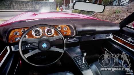 Chevrolet Camaro Z28 pour GTA 4 Vue arrière