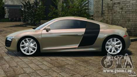 Audi R8 V10 2010 für GTA 4 linke Ansicht