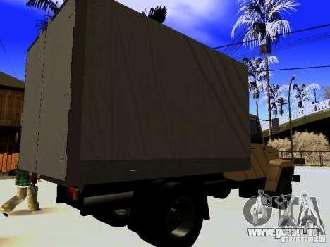 GAZ 3309 pour GTA San Andreas vue de côté