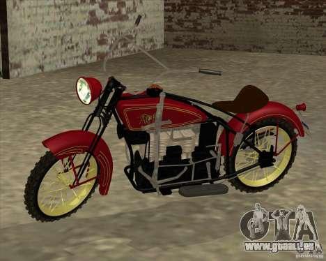 1923 ACE 1200cc für GTA San Andreas linke Ansicht