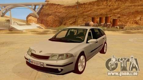 Renault Laguna II pour GTA San Andreas laissé vue