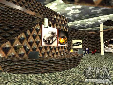 Neuer Lamborghini Showroom in San Fierro für GTA San Andreas dritten Screenshot