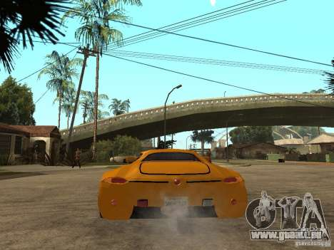 Gillet Vertigo für GTA San Andreas zurück linke Ansicht