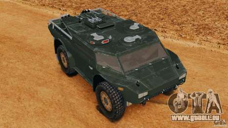 Armored Security Vehicle pour GTA 4 est un côté