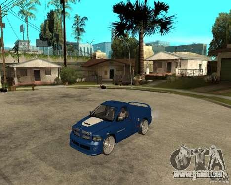 Dodge RAM SRT-10 pour GTA San Andreas