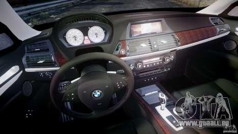 BMW X5 xDrive 4.8i 2009 v1.1 für GTA 4 Rückansicht