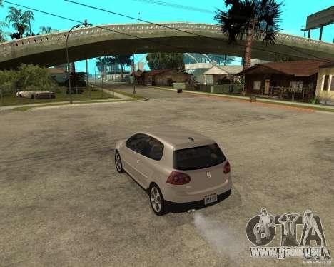 Volkswagen Golf V GTI für GTA San Andreas linke Ansicht