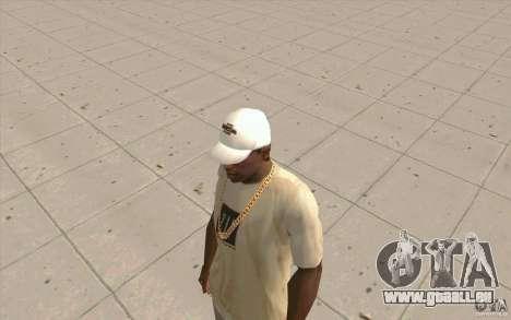 Nfsu2 Cap weiss für GTA San Andreas