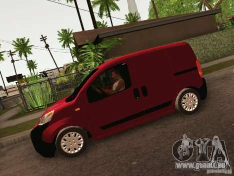 Peugeot Bipper pour GTA San Andreas vue de droite