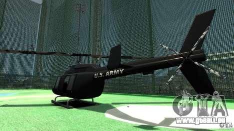 Black U.S. ARMY Helicopter v0.2 für GTA 4 rechte Ansicht