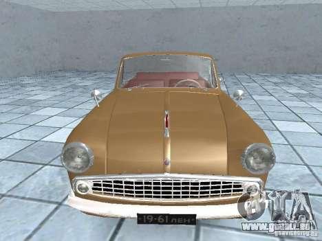 Moskvich 403 Cabrio für GTA San Andreas rechten Ansicht