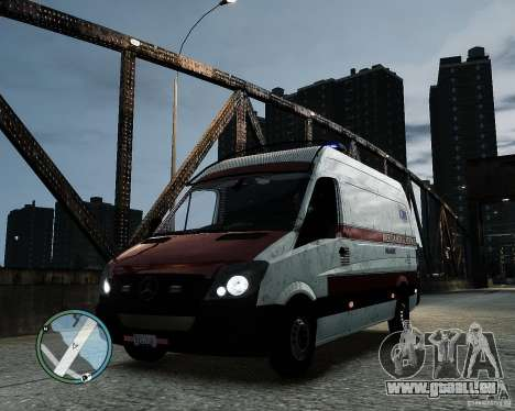 Mercedes Benz Sprinter American Medical Response für GTA 4