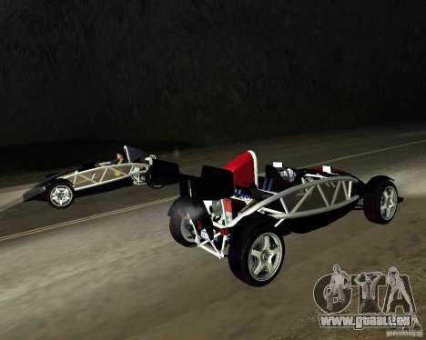 Ariel Atom V8 pour GTA San Andreas laissé vue