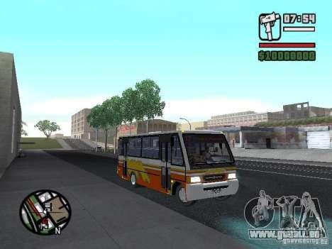 Ciferal Agilis M.Benz LO-814 BY GTABUSCL pour GTA San Andreas vue arrière