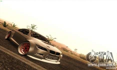 BMW M3 E92 Tuned v2 für GTA San Andreas