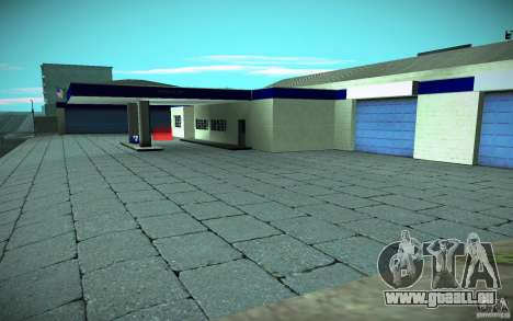 HD Garage in Doherty pour GTA San Andreas troisième écran