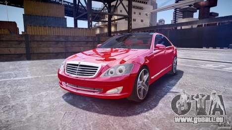 Mercedes Benz w221 s500 v1.0 cls amg wheels pour GTA 4