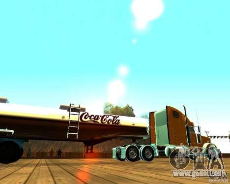 Trailer von Coca Cola für GTA San Andreas linke Ansicht
