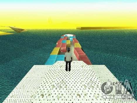 Drivable Cargoship pour GTA San Andreas troisième écran