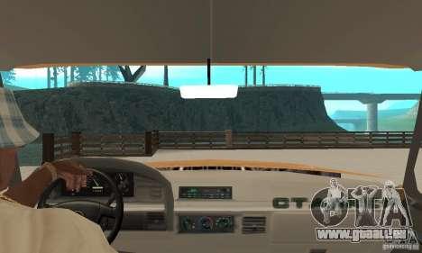 Ford F-350 1992 pour GTA San Andreas vue arrière