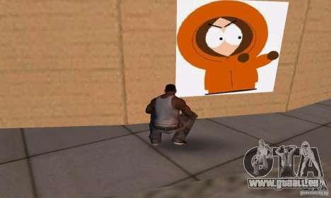 South Park Grafitti Mod pour GTA San Andreas sixième écran