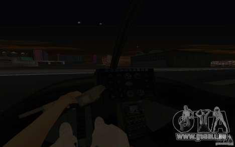 GTA IV Police Maverick für GTA San Andreas Seitenansicht
