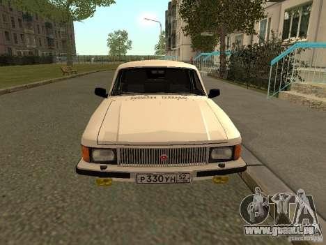 GAZ 3102 Wolga für GTA San Andreas rechten Ansicht
