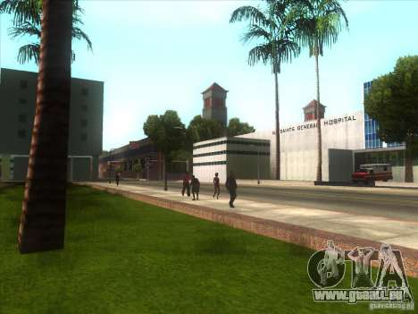 ENBSeries pour PC moyen et faible pour GTA San Andreas cinquième écran