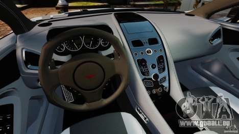 Aston Martin Vanquish 2013 für GTA 4 Rückansicht