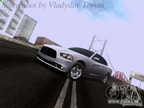 Dodge Charger 2013 für GTA San Andreas zurück linke Ansicht