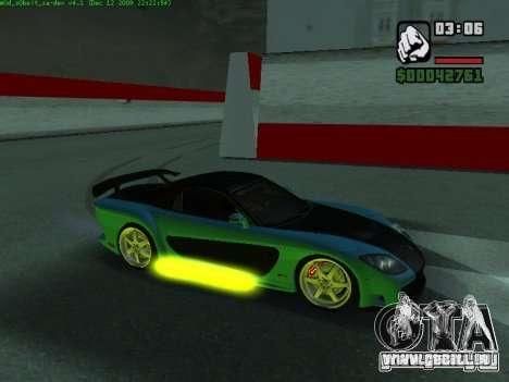 Drift Mod pour GTA San Andreas