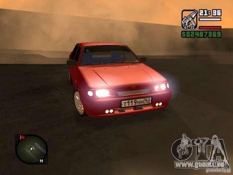 VAZ 2115 FYR Beta für GTA San Andreas