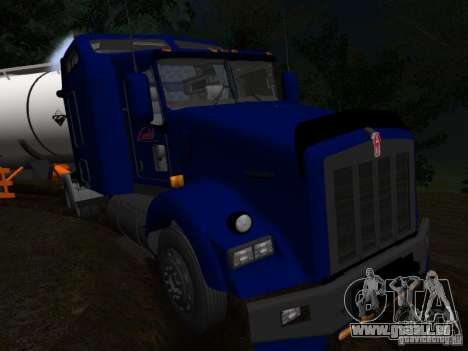Kenwort T800 Carlile für GTA San Andreas obere Ansicht