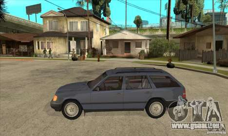 Mercedes-Benz 200TE 1985 für GTA San Andreas linke Ansicht