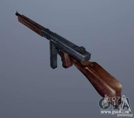 M1 (SMG Thomson) (v1.1) GTA Vice City pour la deuxième capture d'écran