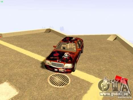 Mercedes-Benz S600 V12 pour GTA San Andreas vue de dessus