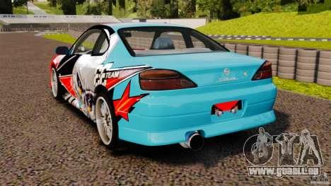 Nissan Silvia S15 Evil Empire für GTA 4 hinten links Ansicht