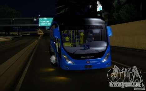 Marcopolo Viale BRT 0500M für GTA San Andreas zurück linke Ansicht