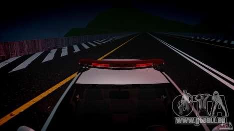 Volkswagen Gol G5 PMSP [ELS] pour GTA 4 vue de dessus