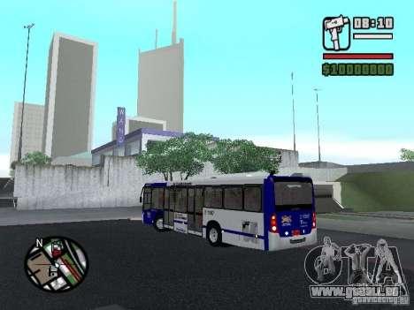Busscar Urbanuss Ecoss MB 0500U Sambaiba pour GTA San Andreas sur la vue arrière gauche