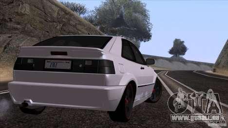 Volkswagen Corrado VR6 pour GTA San Andreas vue arrière