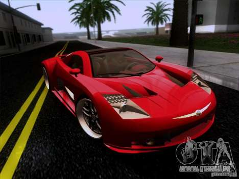 Chrysler ME Four-Twelve für GTA San Andreas